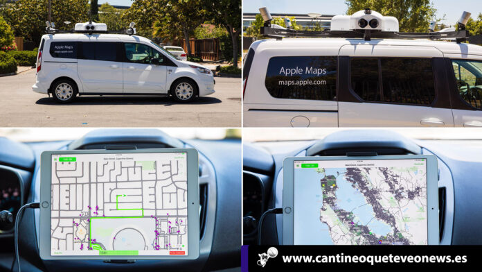 Apple Maps coches España - cantineoqueteveo news