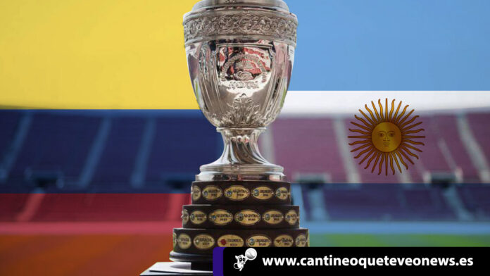 Copa América - colombia argentina - cantineoqueteveo