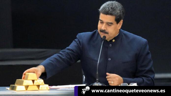 Toneladas de oro - BCV - Maduro - Cantineoqueteveonews