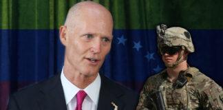 Senador Rick Scott - militares - Venezuela - Cantineoqueteveo News