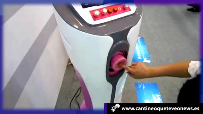 cantineoqueteveo - robot Masturbador