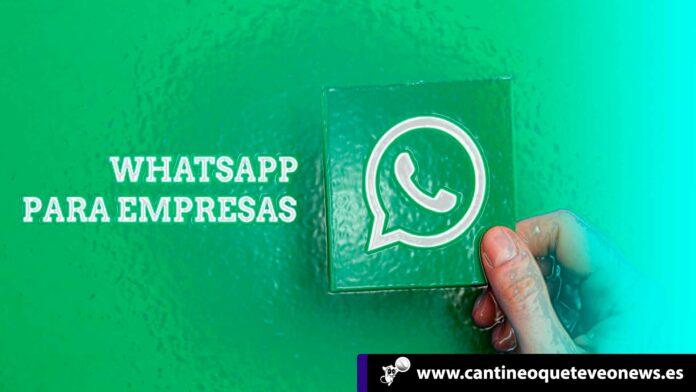 cantineoqueteveo - WhatsApp Business para iOS