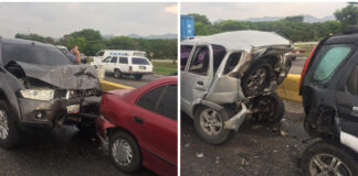 Accidente de tránsito múltiple - Cantineoqueteveo News