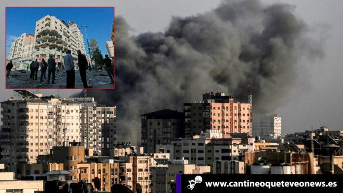 Bombardeos en Gaza e Israel - Cantineoqueteveo News