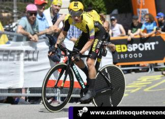 cantineoqueteveo - Contrarreloj del giro 2019 fue dominada por el esloveno Rolic