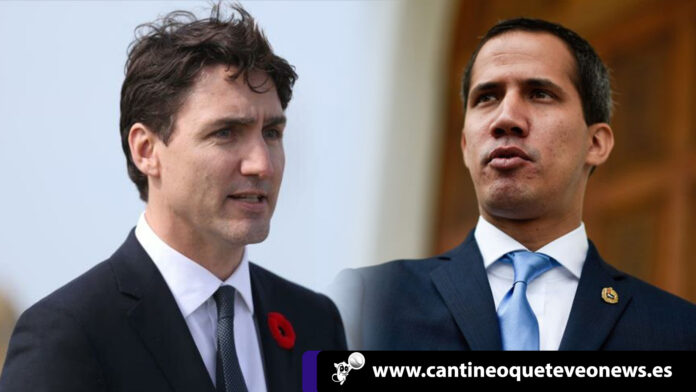 Justin Trudeau - Guaido - cantineoqueteveo