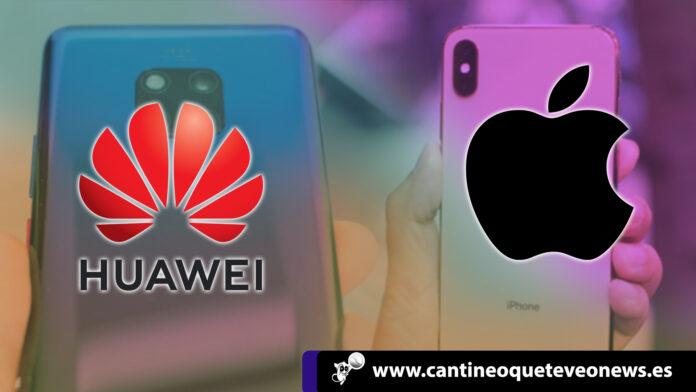 cantineoqueteveo - Huawei vs Apple. la guerra en el mercado global de smartphones