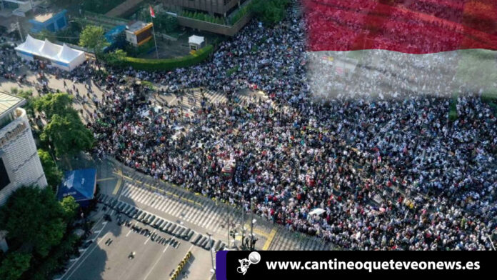 protesta en Indonesia - Cantineoqueteveo News