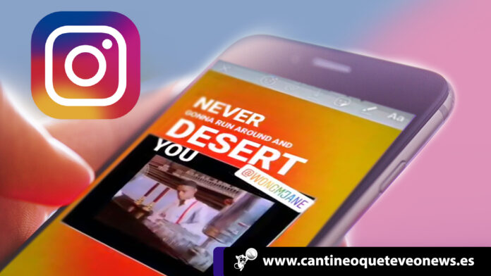 cantineoqueteveo - Las stories de Instagram se actualizan y vienen con letras de canciones