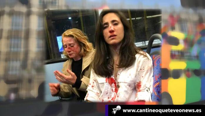 dos mujeres-fuerte golpiza-londres-cantineoqueteveonews