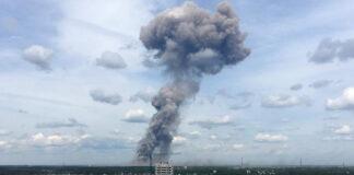 Explosión en una planta de munición-Cantineoqueteveonews