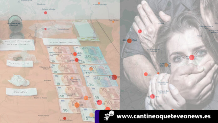 Cantineoqueteveonews - En Madrid han aumentado los delitos sexuales y el tráfico de drogas; esto según elBalance del Ministerio del.....
