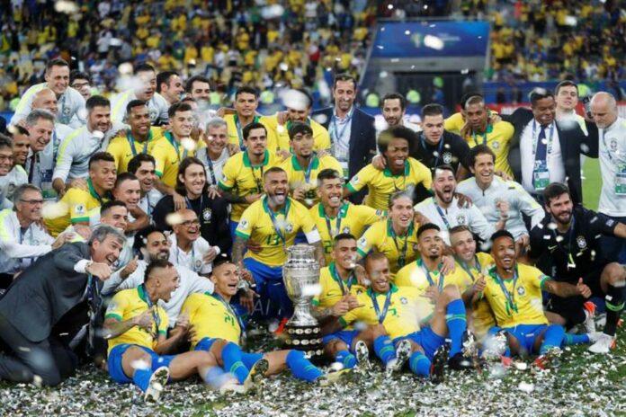 Brasil campeón - cantineo que te veo