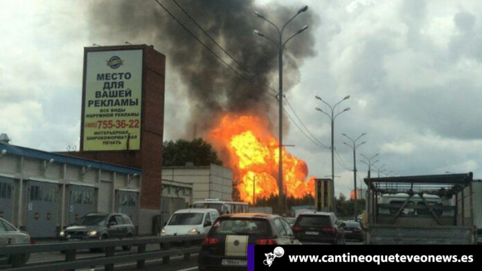 Cantineoqueteveo News - Central térmica Moscú incendió