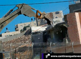 Cantineoqueteveo News -Israel-demuele viviendas palestinas