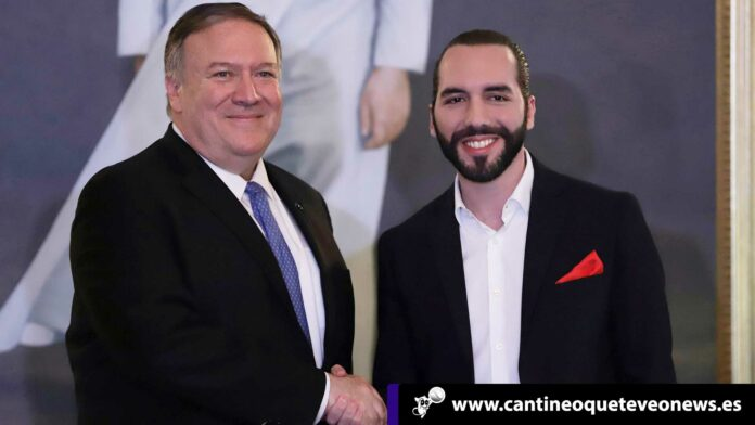 Cantineoqueteveo News- Pompeo y Bukele juntos