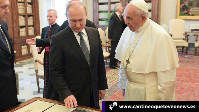 Cantineoqueteveo News - Putin y el papa Francisco