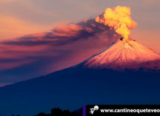 Cantineoqueteveo News -Volcán Popocatépetl de México