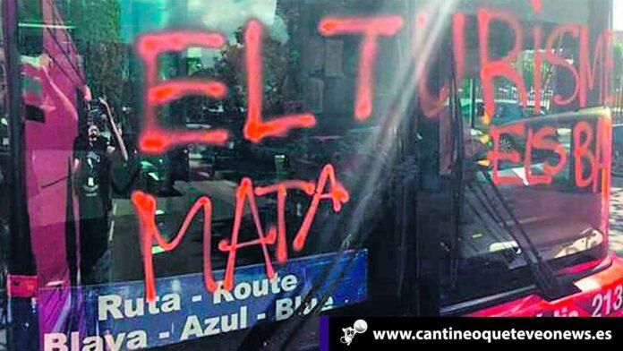 Cantineoqueteveo News - Autobús Turístico atacado