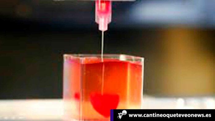 Cantineoqueteveo News - Corazón impreso en 3D