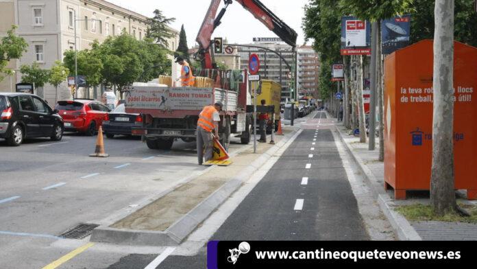 El carril de Lleida - Barcelona