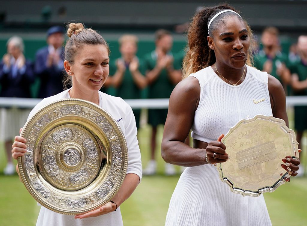 Halep conquistó Wimbledon - cantineo que te veo