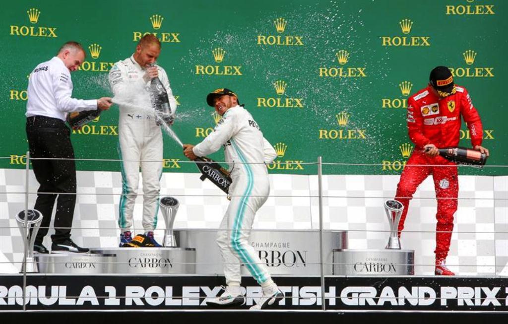 Hamilton ganó en Silvestone - cantineo que te veo