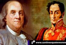 Benjamín Franklin y Simón Bolívar - Cantineoqueteveonews