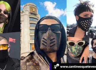 Tapabocas fashion - Cantineoqueteveonews