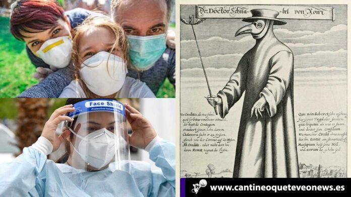 Máscara de la peste - Cantineoqueteveonews
