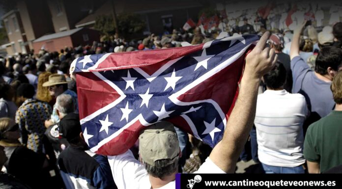 bandera confederada - Cantineoqueteveonews