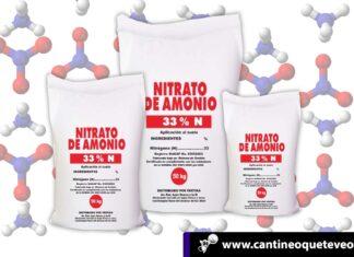 Nitrato de amonio - Cantineoqueteveonews
