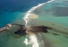 vertido al mar de unos 10.000 litros